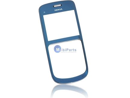Carcasa fata Nokia C3 albastra Originala