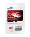 Card memorie Samsung EVO Plus MicroSDXC 64GB Clasa 10 Blister
