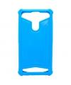 Husa silicon Universala Telefon 4.5 - 5.0 inci Albastra