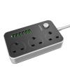 Prelungitor 3 prize  + 6 X USB Ldnio SC3604 Blister original