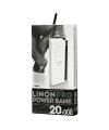 Baterie externa Powerbank Remax Linon Pro RPP-73 cu lanterna 20000mA alba Blister Originala