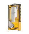 Baterie externa Powerbank Remax Vanguard RPP-15 cu lanterna 20000mA argintie Blister Originala