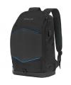 Rucsac Laptop 15.6 inci Tellur GlowPack, Port USB, Banda LED, Negru TLL611282