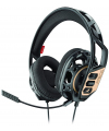 Casti Gaming Over-Ear Plantronics RIG 300, Negru Auriu, Blister