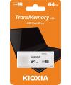 Memorie Externa KIOXIA U301, 64Gb, USB 3.0, Alba LU301W064GG4