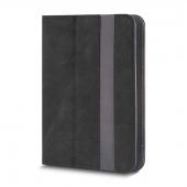 Husa piele Fantasia pentru tableta 7 - 8 inci, Dimensiuni interioare 210 X 140 Mm, Neagra, Bulk