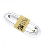 Cablu date Samsung ECB-DU4EWE MicroUSB 1.5m alb Original