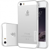 Husa silicon TPU Apple iPhone SE Nillkin Nature transparenta Blister Originala