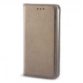 Husa Piele Apple iPhone 5 Case Smart Magnet aurie