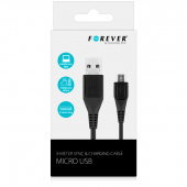 Cablu date MicroUSB Forever 3m Blister