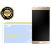 Display cu touchscreen Samsung Galaxy J5 (2016) J510 auriu GH97-18792A