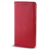 Husa Piele Samsung Galaxy J3 (2016) J320 Case Smart Magnet Rosie