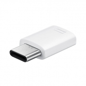 Adaptor USB Type-C - MicroUSB Samsung EE-GN930BWEGWW alb Blister Original