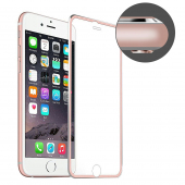 Folie Protectie ecran antisoc Apple iPhone 7 Enkay Tempered Glass Full Face Roz