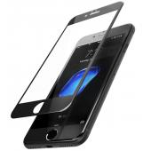 Folie Protectie ecran antisoc Apple iPhone 7 Plus Tempered Glass Full Face 3D neagra Blueline Blister