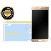 Display cu touchscreen Samsung Galaxy J7 (2016) J710 auriu GH97-18855A
