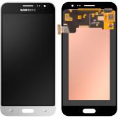 Display - Touchscreen Samsung Galaxy J3 (2016) J320, Alb GH97-18414A