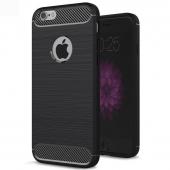 Husa silicon TPU Apple iPhone 6 Carbon