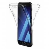 Husa silicon TPU Samsung Galaxy J3 (2016) J320 Full Cover Transparenta