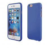 Husa silicon TPU Apple iPhone 7 Candy bleumarin