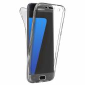Husa silicon TPU Samsung Galaxy S8 G950 Full Cover Transparenta