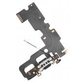 Banda cu conector incarcare / date - Microfon Apple iPhone 7, Negru