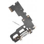 Banda cu conector incarcare / date si microfon Apple iPhone 7 Argintie