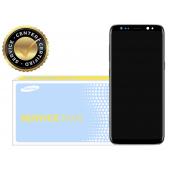 Display cu touchscreen si rama argintie Samsung Galaxy S8 G950 GH97-20457B