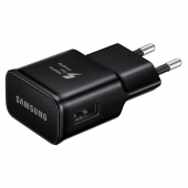Incarcator retea USB Samsung EP-TA20EBE, Fast Charging, Negru, Bulk