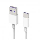 Cablu de date USB - USB Type-C Huawei AP71 HL1289 Alb Original