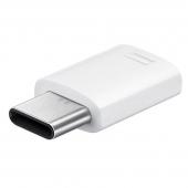 Adaptor USB Type-C - MicroUSB Samsung EE-GN930BW alb