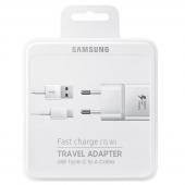Incarcator retea USB Type-C Samsung EP-TA20EWECGWW Fast Charging Alb Blister Original