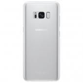 Husa plastic Samsung Galaxy S8+ G955 Clear Cover EF-QG955CSEGWW Argintie Blister Originala