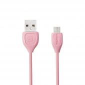 Cablu de date MicroUSB Remax Lesu RC-050M Roz