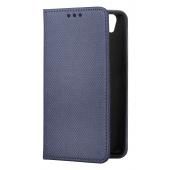 Husa piele Samsung Galaxy J5 (2017) J530 Case Smart Magnet Bleumarin