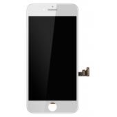 Display cu touchscreen si rama Apple iPhone 8 Plus Alb