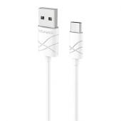 Cablu de date MicroUSB Usams U-Gee alb Blister Original