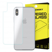 Folie Protectie spate Apple iPhone X WZK Tempered Glass Blister Originala