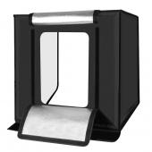 Cort fotografie produs studio cube pliabil cu LED Puluz PU5060 60cm