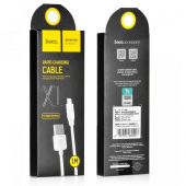 Cablu date Lightning HOCO Rapid X1 2m Alb Blister Original