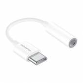 Adaptor audio USB Type C la Jack 3.5 mm Huawei CM20 Alb Blister Original