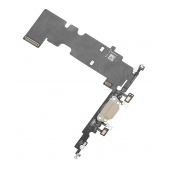 Banda cu conector incarcare / date si microfon Apple iPhone 8 Plus Auriu
