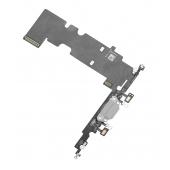 Banda cu conector incarcare / date si microfon Apple iPhone 8 Plus Argintiu