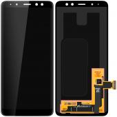 Display - Touchscreen Samsung Galaxy A8 (2018) A530, Negru GH97-21406A