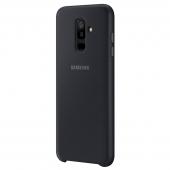 Husa plastic Samsung Galaxy A6+ (2018) A605 Dual Layer EF-PA605CBEGWW