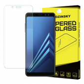 Folie Protectie Ecran WZK pentru Samsung Galaxy A8 (2018) A530, Sticla securizata, Blister