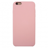 Husa TPU OEM Pure Silicone pentru Apple iPhone 6 / Apple iPhone 6s, Roz, Bulk