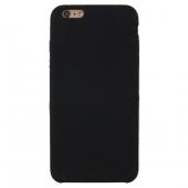 Husa TPU OEM Pure Silicone pentru Apple iPhone 6 / Apple iPhone 6s, Neagra, Blister