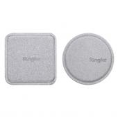Set sticker magnetic telefon pentru Suport Auto Ringke Gri Blister