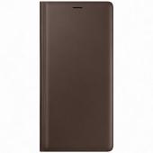 Husa Samsung Galaxy Note9 N960, Leather Wallet, Maro, Blister EF-WN960LAEGWW